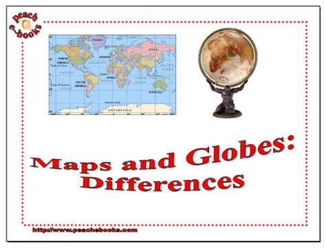 globe and maps difference between e books geographic understandings k 5