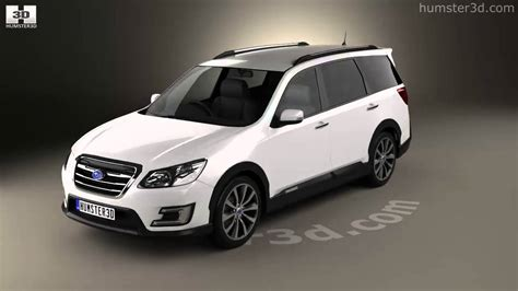 subaru exiga 2015 subaru exiga crossover 7 2015 3d model by humster3d com