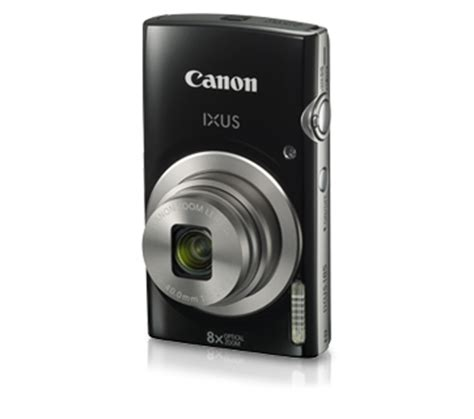 canon ixus 185 digital camera black/red + 16gb + case