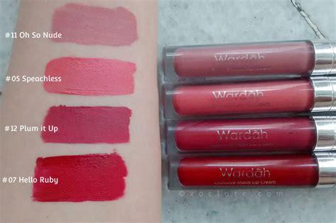 Wardah Lip Di Counter review wardah matte lip 2 3 4 5 7 11