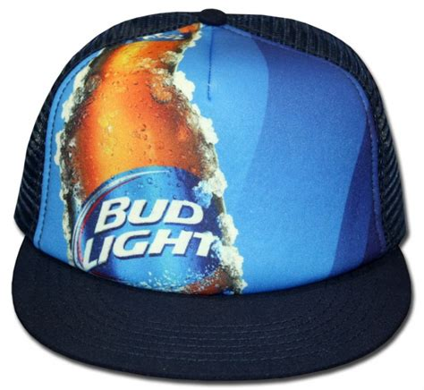bud light trucker hat bud light sublimated trucker hat boozingear com