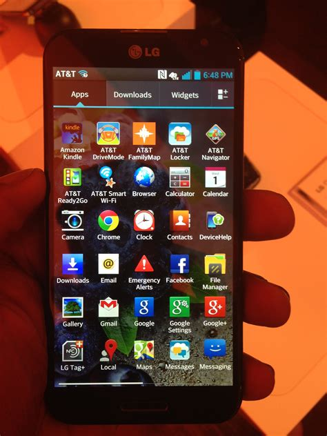 Handphone Lg Optimus G Pro on with the at t optimus g pro smartphone