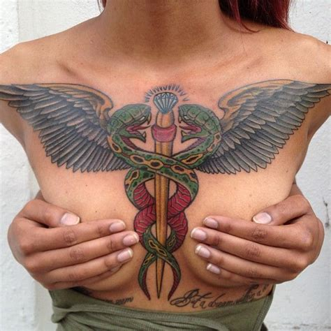 medical tattoo designs best 25 caduceus ideas on