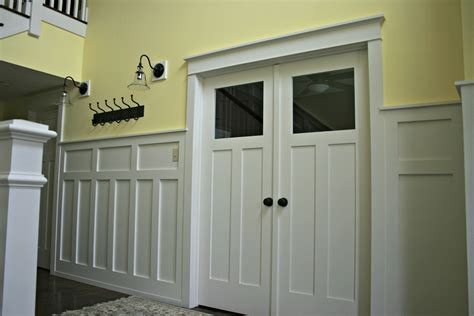 craftsman wainscoting mission style wainscoting wainscoting and chair rail