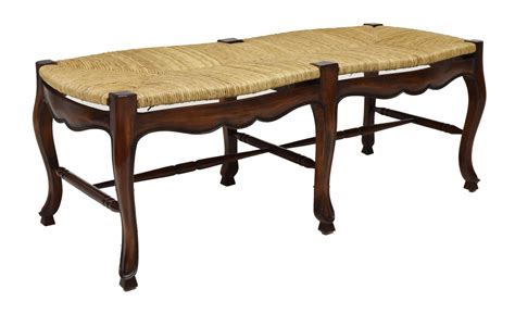 rush seat bench rush seat bench luxury estates aucton day one austin auction gallery