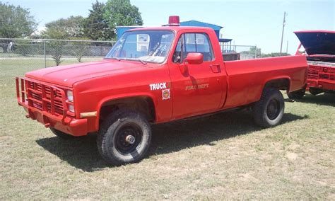 no1307 chevrolet m1008 4x4 cucv military truck