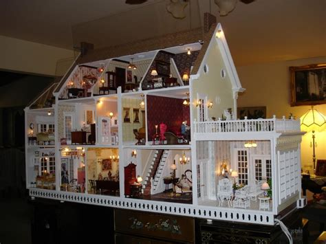 Beautiful Dollhouses And Miniatures On Pinterest Doll Houses Dollh