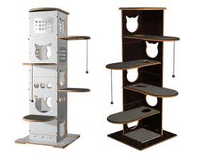 Modern Cat Tree by Spectacular Modern Cat Furniture From Brazil Hauspanther