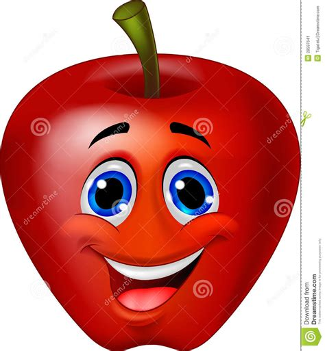 imagenes de manzanas rojas animadas apple cartoon character stock vector illustration of eyes