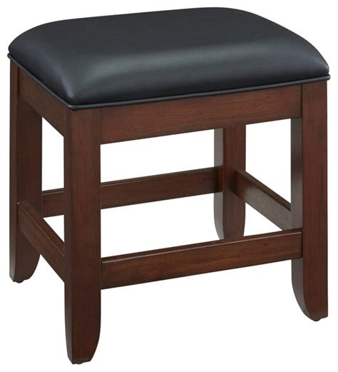 Vanity Stools Benches Chesapeake Vanity Bench Transitional Vanity Stools And Benches By Home Styles Furniture