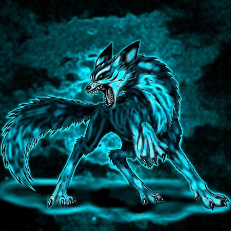 wolf with spirit wolf images