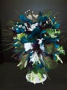 peacock feather centerpieces peacock feather centerpieces cake ideas and designs