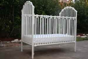 White Metal Baby Crib Metal Crib Parts