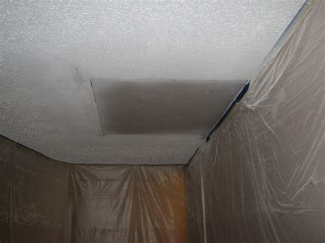 Attic Stepthru Drywall Ceiling Repair Peck Drywall And Stucco Ceiling Repair