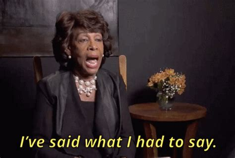black maxine waters gif find & share on giphy