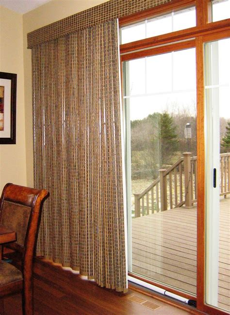 Sliding Patio Doors Window Treatments by 26 And Useful Ideas For Front Door Blinds Interior