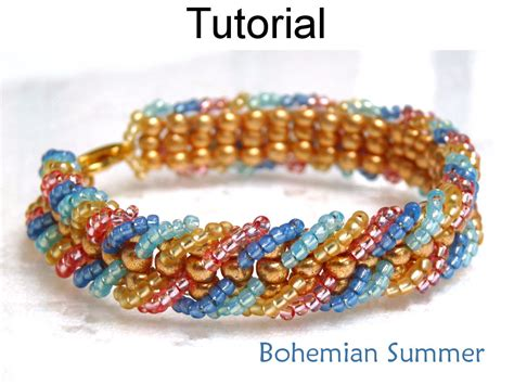 how to do ladder stitch beading beading tutorial pattern bracelet embellished ladder