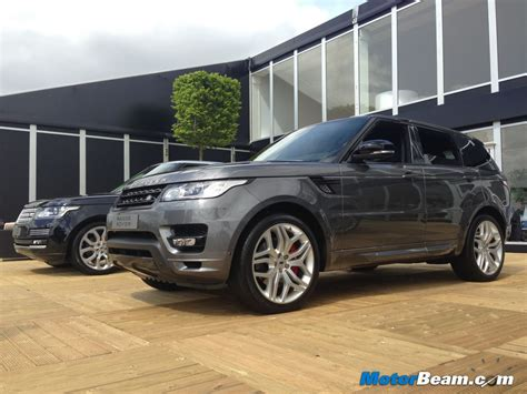first land rover range rover sport first drive 24 cars blue sky