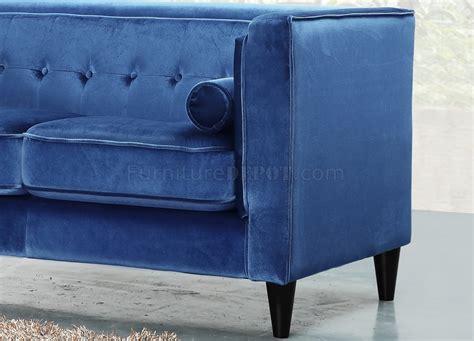 Light Blue Velvet Sofa by 642ltbl Sofa In Light Blue Velvet Fabric W Optional