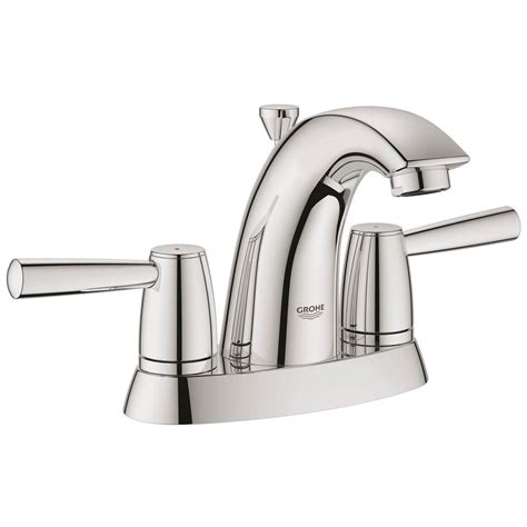 Grohe Faucets Warranty by Grohe 20388000 At Designs Centerset Bathroom Sink