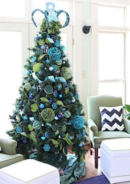 arboles de navidad decorados online para facebook para