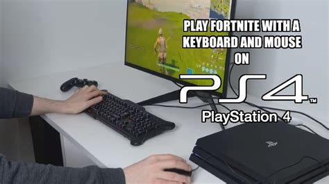 fortnite keyboard and mouse xbox speel met n keyboard en mouse fortnite op ps4 gevaaalik