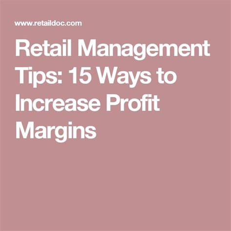 best 25 retail manager ideas on information technology the ordinary and