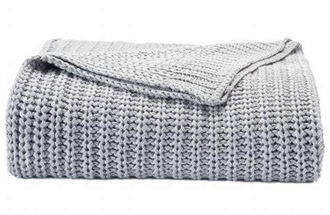 gray knit blanket sonoma gray chunky knit throw blanket grey soft cozy