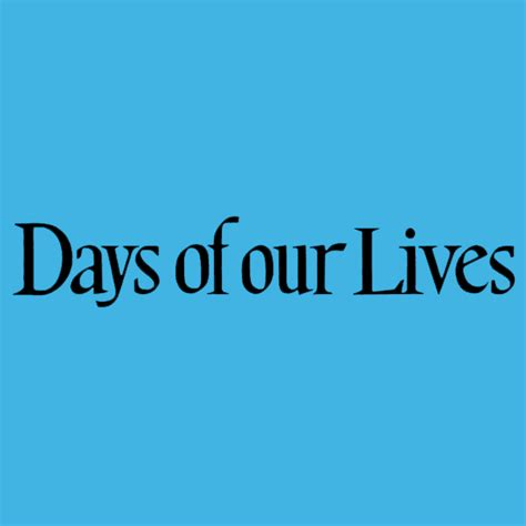 days of our lives logo we love soaps days of our lives annual day of days