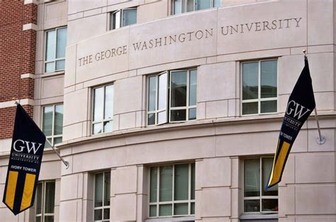 George Washington Mba Deadlines by George Washington Acceptance Rate And More