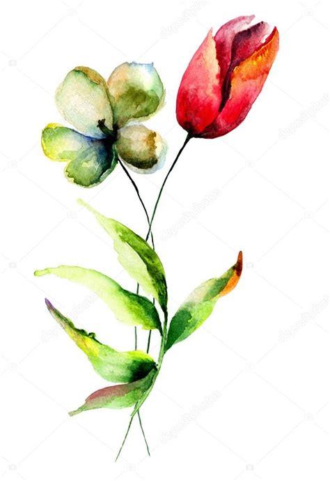 fiori di ciliegio stilizzati immagini fiori stilizzati fiori stilizzati tulipani foto