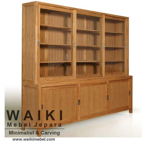 Lemari Display Jati Jepara lemari display minimalis ngabul lemari display harga terjangkau