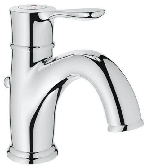 Grohe Parkfield Single Hole Lavatory Faucet Contemporary Bathroom Sink And Faucet