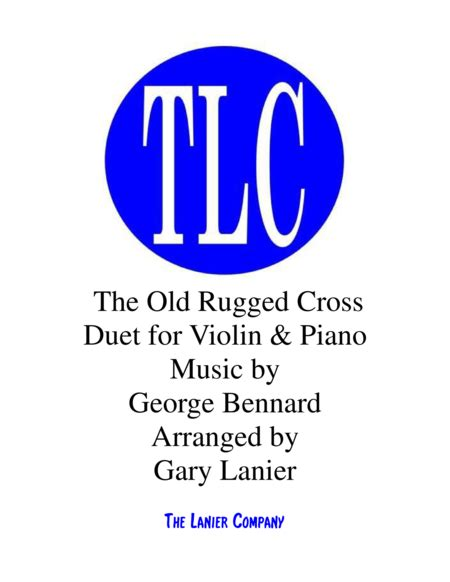 the rugged cross sheet violin the rugged cross duet violin and piano