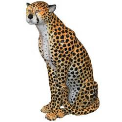 Italian glazed ceramic cheetah at 1stdibs
