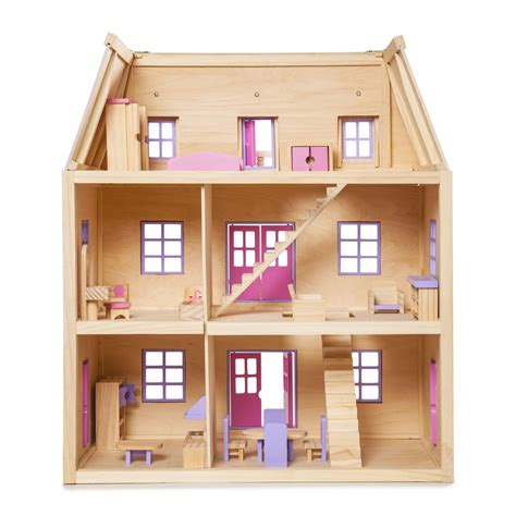 simple doll house alpaca for the love of wooden dollhouses
