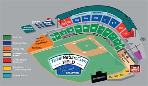 Ticket Information   Myrtle Beach Pelicans Tickets