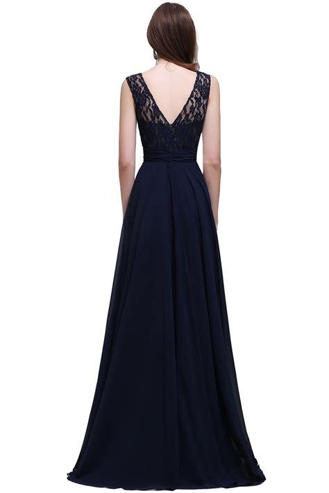 vestido de festa azul marinho  alta costura