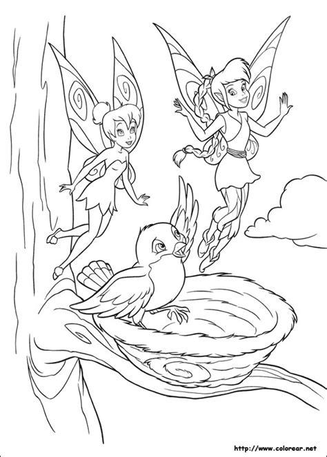 imagenes de tinkerbell faciles para dibujar dibujos para colorear de canita