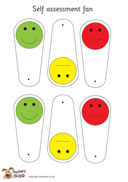 Traffic Light Cards Template by S Pet Free Classroom Display Resources For Early
