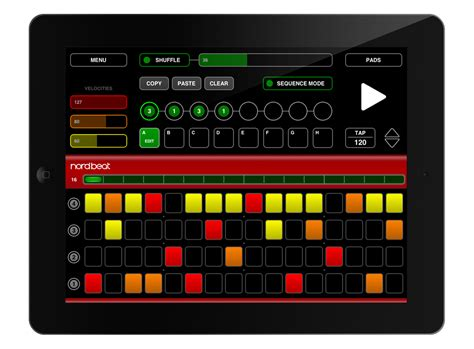drum pattern sequencer app nord beat app step sequencer ziomusic it