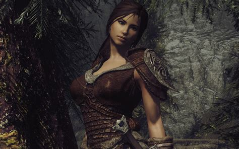 skyrim women mods scale armor by fastestdog re colour version 1 2 at