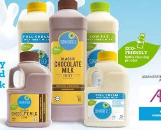 milk design malaysia summerfield fresh milk adopts clean design emphasises eco