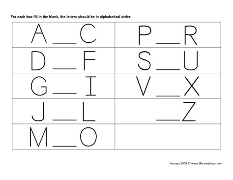 alphabet ordering worksheets fill in the blank worksheets for kindergarten free kindergarten worksheets reading phonics