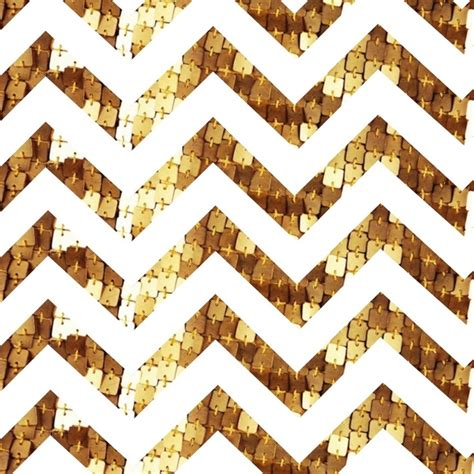 gold sequin chevron canvas print by elecat society6