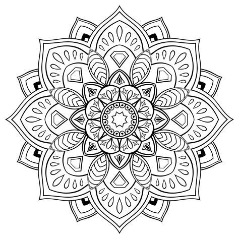 flor mandala para imprimirflor mandala los mejores dise 241 os de mandalas de flores debuda net