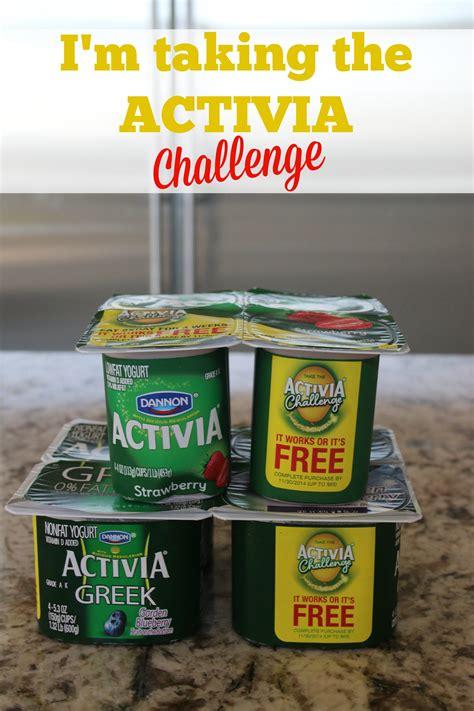 activa challenge i m taking the activia challenge activia challenge it s
