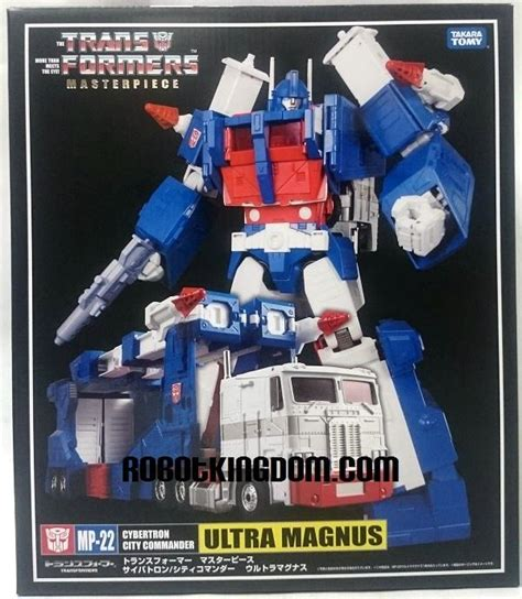 Trasformer Mp 22 Ultra Magnus masterpiece mp 22 ultra magnus box and coin images transformers