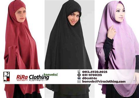 memilih bahan  tepat  jilbab syari riraclothing