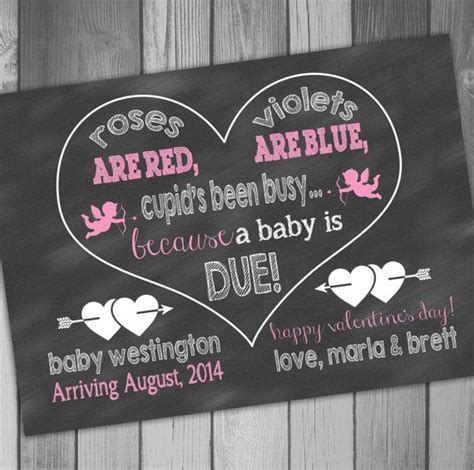 valentines day baby announcement valentines day pregnancy announcement expecting